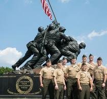 Second Marine Cohort Lands at the Schar School